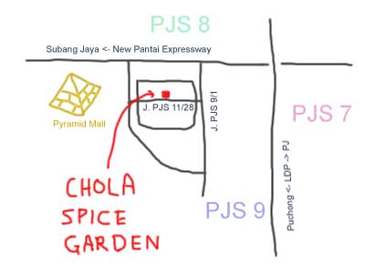 Chola Spice Garden at Sunway
