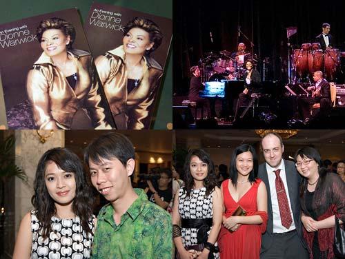 Dionne Warwick live at Kuala Lumpur