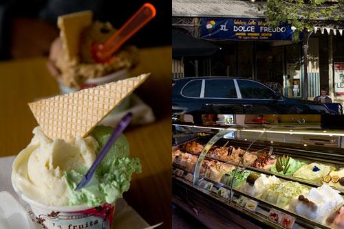Il Dolce Freddo gelati at Logan Street, Melbourne