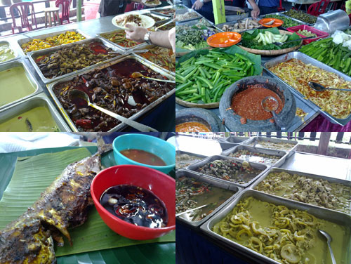 malay dishes, ikan bakar