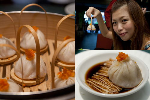 steamed shanghainese dumplings