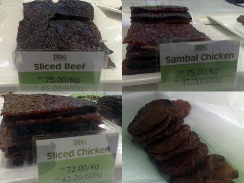 Halal Bak Kua (BBQ Meat) at Pavilion KL