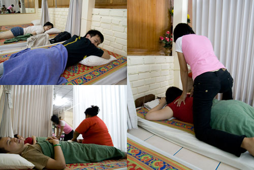 Thai massage at Krabi