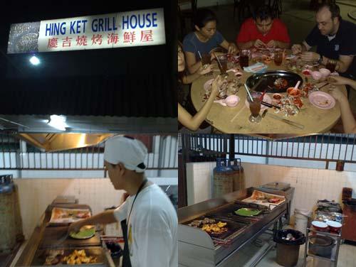 Hing Ket Grill House Seafood, Klang