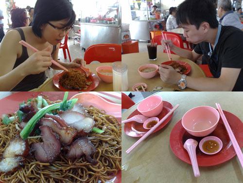 Wan Tan Mee at restuarant hock lim, PJ State