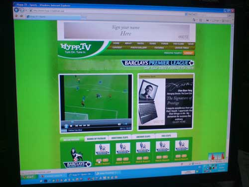 Hypp.tv screenshot