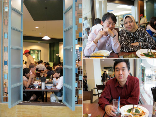 KY, Was, and Chew at little penang cafe, KLCC