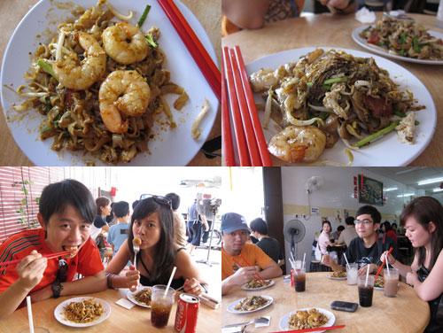 big prawns at lorong selamat char kueh teow