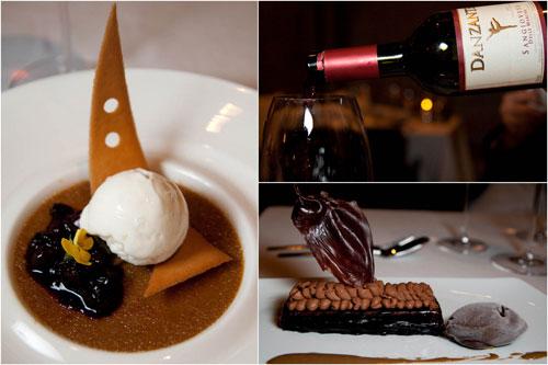 Crème brûlée, Manjari Chocolate Ganache