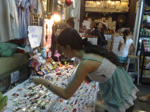 Mellissa at Chatuchak Weekend Market