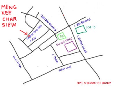 map to tengkat tong shin