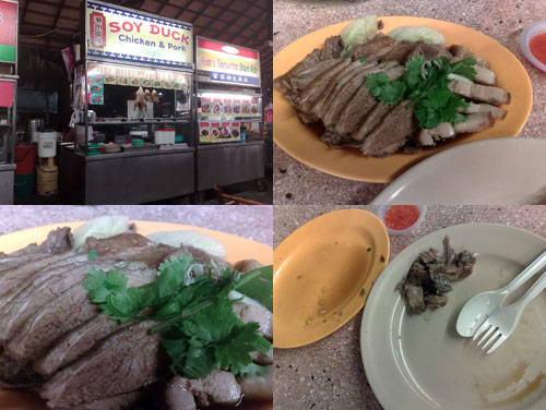 Soy Duck at Ming Tien food court, Taman Megah