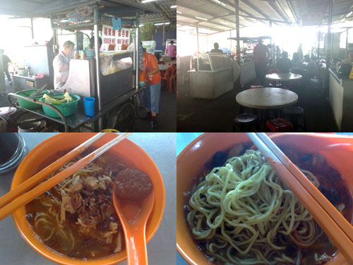 Hokkien Mee at Mt Eskerin wet market