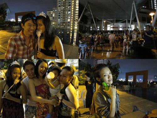 KY, elfie, haze, liling, at malam tumpang glamour 2
