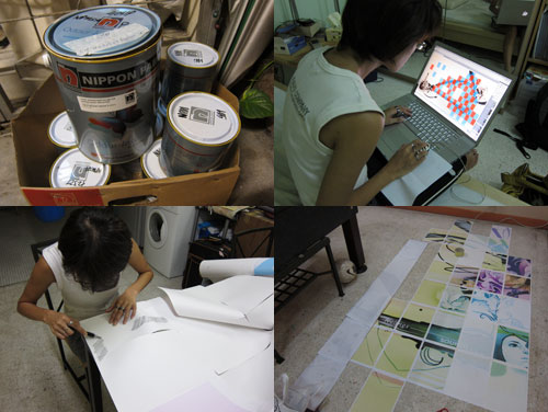 nippon paint - design and tracing