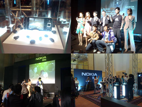 Nokia N96 Launch Party at KL Hilton