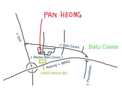Wat Tan Hor Pan Heong at Batu Caves