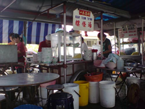 Penang Dried Kuey Teow Soup