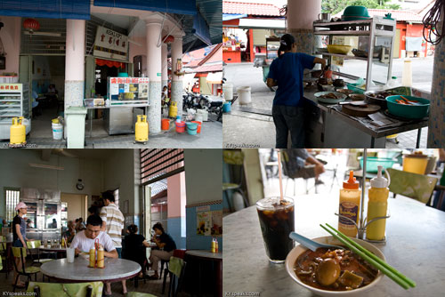 loh mee at Penang