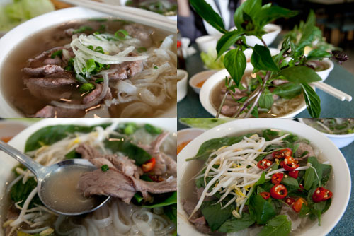 beef pho at pho dzung