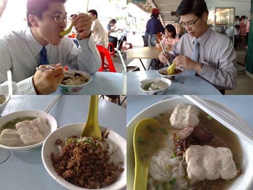 Pork Noodle at PJ State