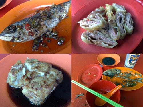 Teow Chew Porridge at Restaurant Sun Fat Kee