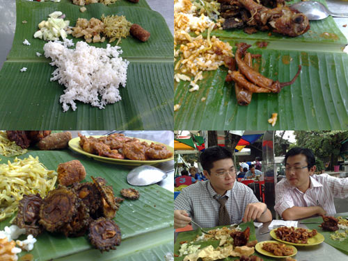 Raju Banana Leaf at Petaling Jaya