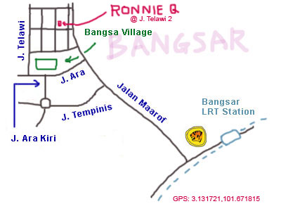 Ronnie Q at Bangsar