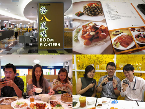 room eighteen cantonese cuisine