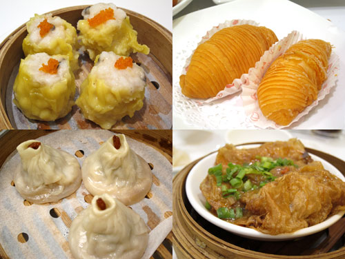 dimsum and xiao long bao at room eighteen