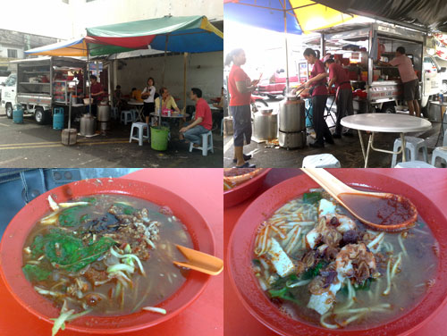 Penang Laksa and Hokkien Mee at PJ Sea park