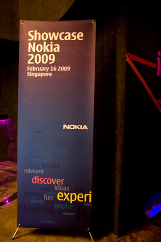 Showcase Nokia 2009 in Singapore