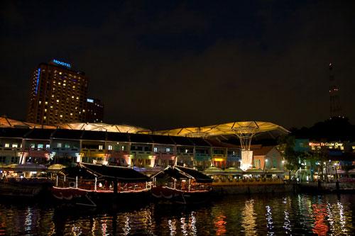 along Singapore River