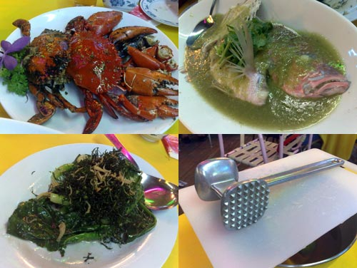 South Sea Seafood kampung subang
