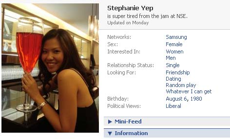 Stephanie Yep at Facebook