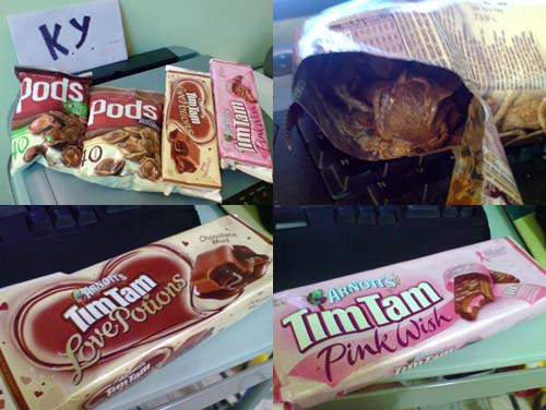 Tim Tam and Pods