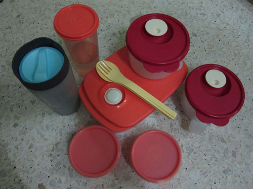 my tupperware collections