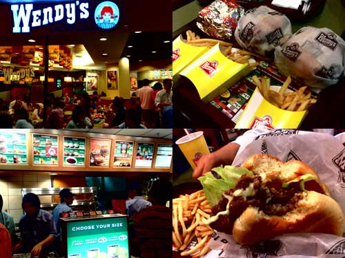 Wendy's Fast Food at Sunway Pyramid