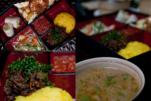 westin lunch box - Malaysian cuisine