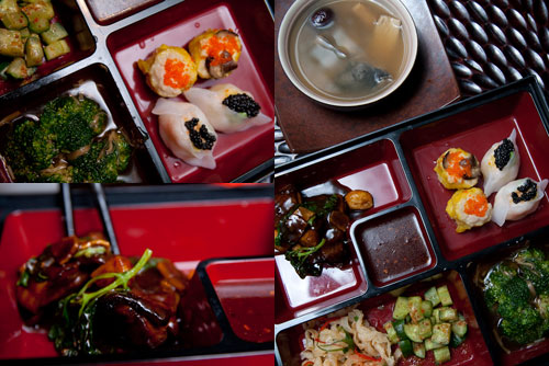 westin lunch box - Chinese cuisine