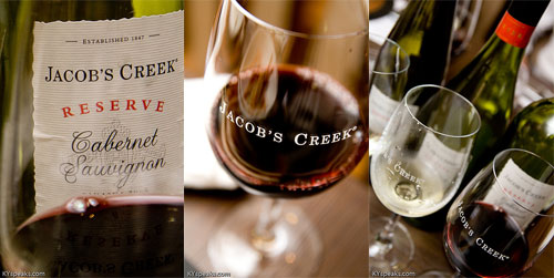 Jacob's Creek Wine at Tykoh Inagiku