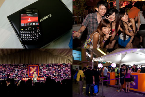blackberry curve 8520 from xBerry party