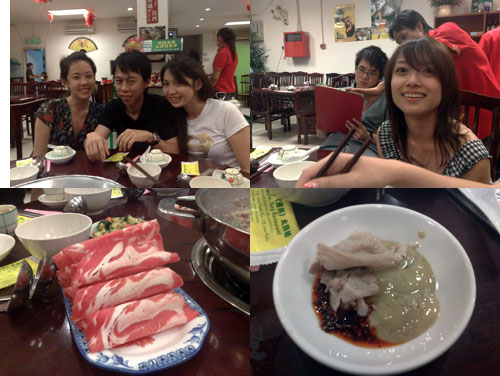Mell, KY, Pinky, Tim, and Audrey having steamboat