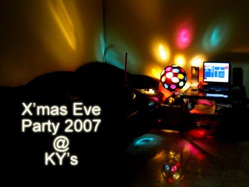 Xmas Eve Party 2007