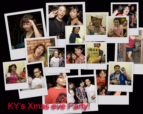 X'mas Eve Party 2008 invite