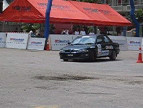 KLCC GRA Autocross Round 2, Jan 15 2006, Julian Pang Proton Wira