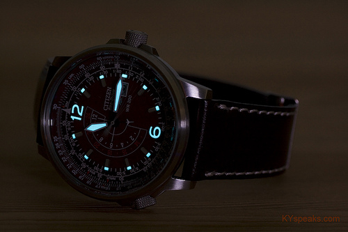Citizen Promaster Eco-Drive Nighthawk BJ7010-24W