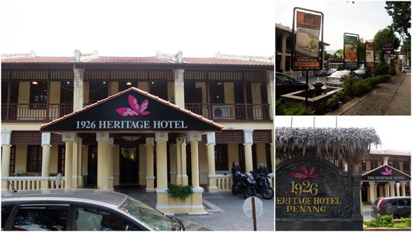1926 Heritage Hotel, Burma Road, Penang
