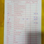 receipt at Kuang Wah Seafood Restaurant