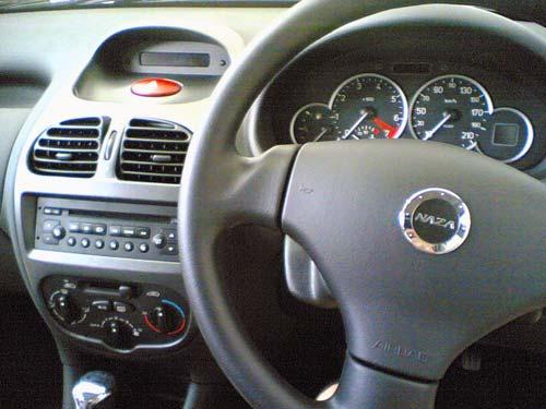 Naza Peugeot 206 Bestari interior dashboard
